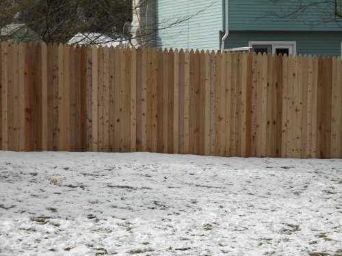 Fence Types Wooden Privacy And Vinyl Styles